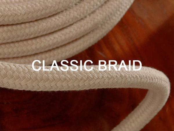 Touwwerk voor klassiek jachten en ronde-en platbodem jachten Classic Braid